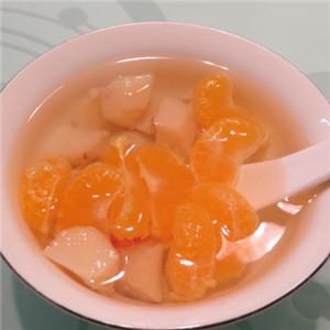 马蹄橘子梨水