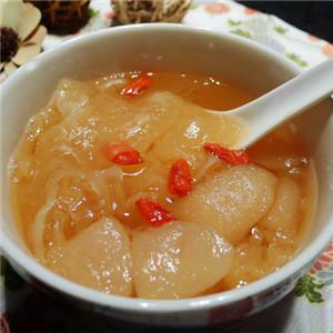 甘蔗雪梨百合汤