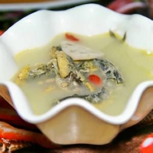 泥鳅莲藕汤