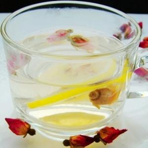 玫瑰柠檬饮