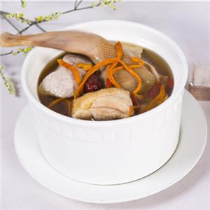 黄花菜鹌鹑汤