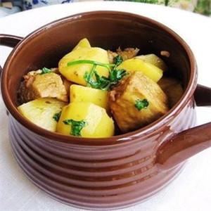 土豆炖冻豆腐