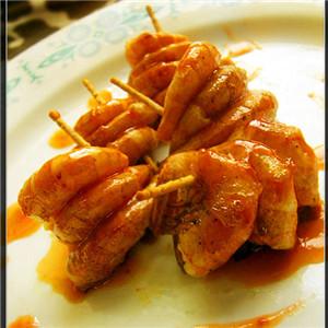 糖醋串串虾