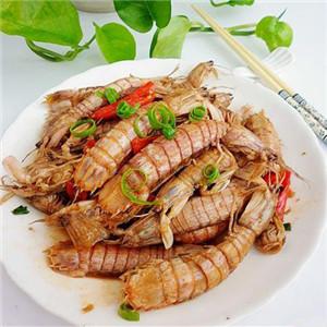 香炒皮皮虾