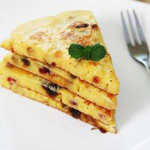 酸奶玉米饼