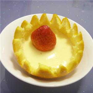 香橙蜂蜜蛋羹