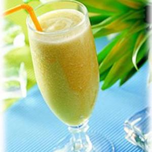 山竹哈密瓜汁