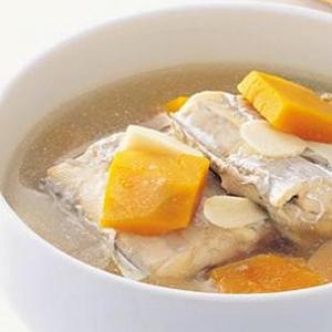 带鱼南瓜汤