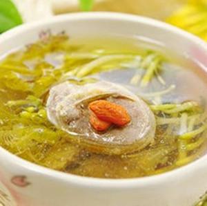 金银花山竹猪肉汤