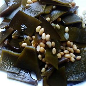 海带烧黄豆
