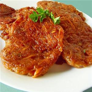白萝卜肉饼