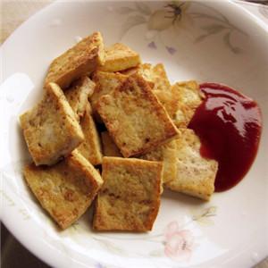 卤酱油黄金豆腐