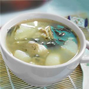 冬瓜白菜干猪骨汤