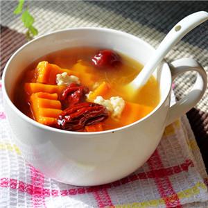 米酒南瓜红枣汤