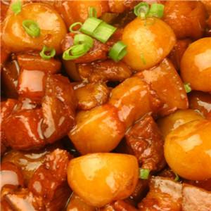 土豆烧板栗