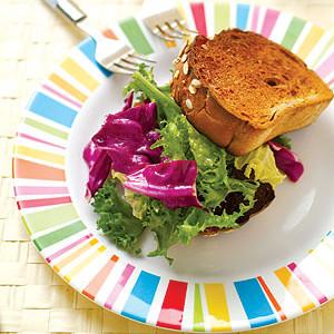 法式乡村面包沙拉