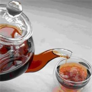 陈皮枸杞润喉茶
